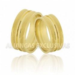 Alianças de Noivado e Casamento em Ouro 18K Anatôm... - Ouro Vale Joias