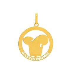 Pingente de Formatura Gastronomia em Ouro 18k - OV... - Ouro Vale Joias