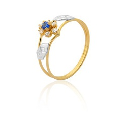 Anel de Formatura em Ouro 18k - OV/AN516N - Ouro Vale Joias
