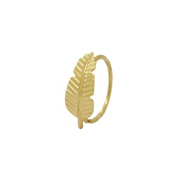 Piercing Folha Ouro 18k - OV/PIR16247-1 - Ouro Vale Joias