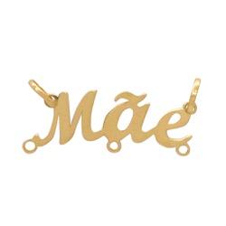 Pingente Canga Mãe Ouro 18k - OV/12751 - Ouro Vale Joias