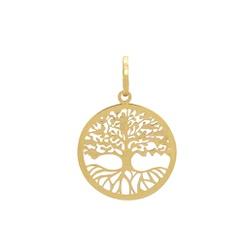 Pingente Árvore da Vida em Ouro 18k - OV/P13139-1 - Ouro Vale Joias