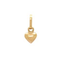 Pingente Coração Ouro 18k - OV/P14741 - Ouro Vale Joias