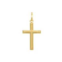 Pingente Cruz Ouro 18k - OV/P6972 - Ouro Vale Joias