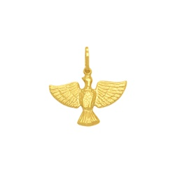 Pingente Espírito em Ouro 18k - OV/P8587-1 - Ouro Vale Joias