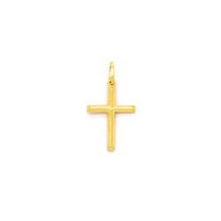Pingente Cruz em Ouro 18K - OV/8531 - Ouro Vale Joias