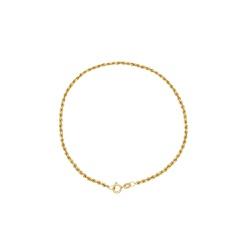 Pulseira Cordão em Ouro 18k - OV/PUL20552-12 - Ouro Vale Joias