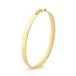 Bracelete Infantil Oco Ouro 18k - OV/PUL7666 - Ouro Vale Joias