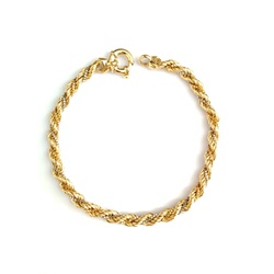 Pulseira Tricolor ( 3 tons) Ouro 18k - OV/PUL186 - Ouro Vale Joias
