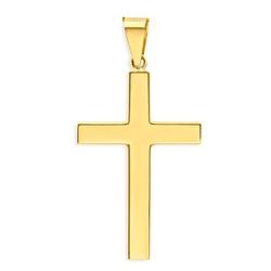 Pingente Cruz em Ouro 18k - OV/P995-1 - Ouro Vale Joias