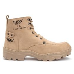 Bota 1050 C.A Jhon Boots - Marfim - BOOTS CAT