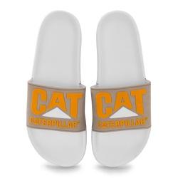 Chinelo Slider - Branco - BOOTS CAT