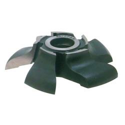 Fresa Para Rodapés Boleados Tipo Peito de Rola D:150 Z: 5 Lado:E em Aço (15) - Outlet do Marceneiro