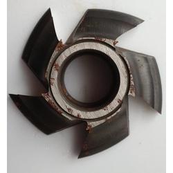 Fresa Para Molduras 100mm X 28mm 6 Asas f 30 Em Aço Fepam - Outlet do Marceneiro