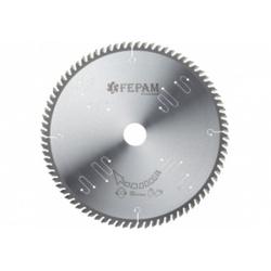 Disco de serra circular 250 mm X 80 dentes ED 38º /BR F.30 Fepam - Outlet do Marceneiro