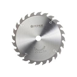 Disco de Serra Circular 250 mm X 24 dentes F.30 Fepam - Outlet do Marceneiro