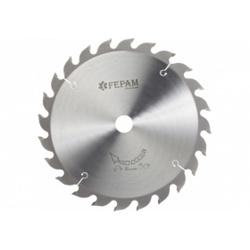 Disco de serra circular 250 mm x 36 dentes F.30 Fepam - Outlet do Marceneiro