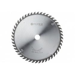 Disco de serra circular 250 mm X 48 dentes ED F.30 Fepam - Outlet do Marceneiro
