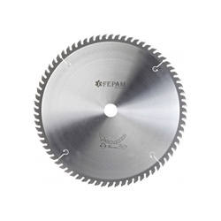 Disco de serra circular 250 mm X 60 dentes ED, F. 30 Fepam - Outlet do Marceneiro
