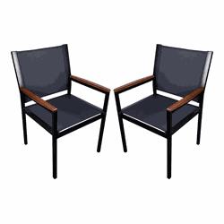 Cadeira Berlin em tela Sling - FZDHB3TJG - Outlet das Fibras