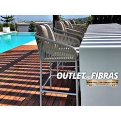 BANQUETA FRANÇA - 567D8G8GH - Outlet das Fibras