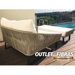 CHAISE FRANÇA + PUFF - 577GG766G - Outlet das Fibras