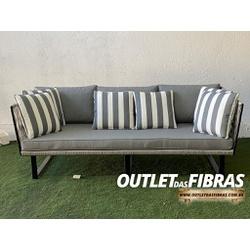 SOFÁ FRANÇA (Trama Tradicional) - 656D678S - Outlet das Fibras