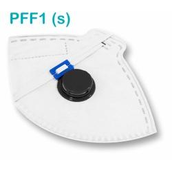 Respirador Descartável Tipo PFF1 (S) Branca Com Vá... - OXLIFE