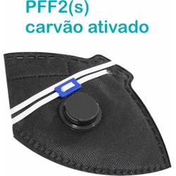 Respirador Descartável Tipo PFF2 (S) Preto Carvão ... - OXLIFE