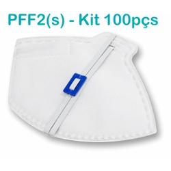 Respirador Descartável Tipo PFF2 (S) Branco - Caix... - OXLIFE