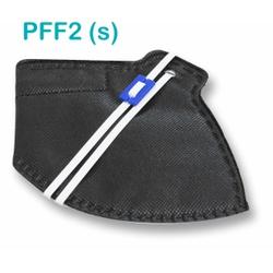Respirador Descartável Tipo PFF2 (S) Preto - Kit c... - OXLIFE
