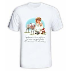 Camiseta Infantil Guia-me - DI.66.141 - PALUDO ARTIGOS CATÓLICOS