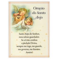 Cartão Postal Oração do Santo Anjo - DI.243.05 - PALUDO ARTIGOS CATÓLICOS