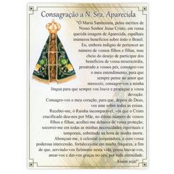 Cartão Postal Nossa Senhora Aparecida - DI.243.02 - PALUDO ARTIGOS CATÓLICOS