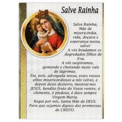 Cartão Postal Salve Rainha - DI.243.07 - PALUDO ARTIGOS CATÓLICOS