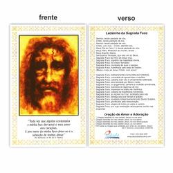 Cartão Postal Sagrada Face 10x15 - DI.127 - PALUDO ARTIGOS CATÓLICOS