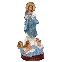 Imagem de Nossa Senhora da Conceição 20cm Resina N... - PALUDO ARTIGOS CATÓLICOS
