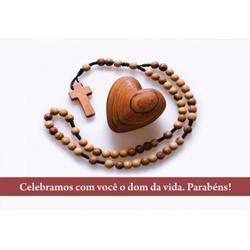 Cartão Postal Aniversário de Dizimista - DI.139 - PALUDO ARTIGOS CATÓLICOS