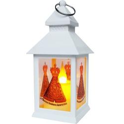Luminária a LED Com Chama Eletrônica Nossa Senhora... - PALUDO ARTIGOS CATÓLICOS
