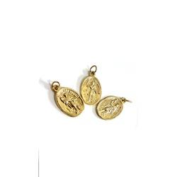 Medalha Dourada de Santo Expedito - 053.ME - PALUDO ARTIGOS CATÓLICOS
