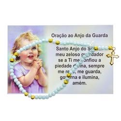 Terço Pulso Infantil com Oração - TD.61 - PALUDO ARTIGOS CATÓLICOS