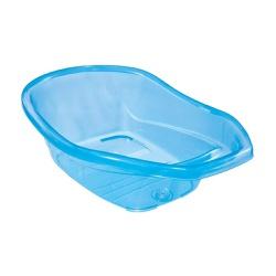 Banheira Tutti Baby - Transparente Azul - 55591 - Loja Paula Baby