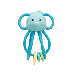 Elefantinho Chocalho Divertido Buba - Azul - 65612 - Loja Paula Baby