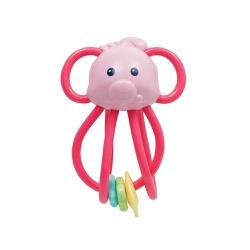 Elefantinho Chocalho Divertido Buba - Rosa - 6561 - Loja Paula Baby