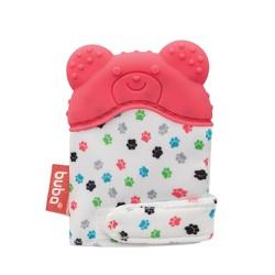 Luvinha Mordedor Urso Buba - Rosa - 65608 - Loja Paula Baby