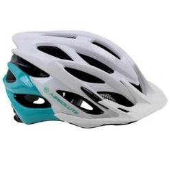 Capacete Absolute Mia Branco e Verde - 4456 - PEDAL PRÓ Bike Shop