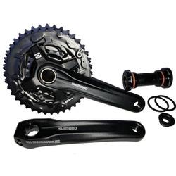 Pedivela Shimano Altus FC-MT210 40/30/22D 175mm - ... - PEDAL PRÓ Bike Shop