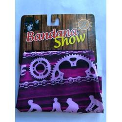Bandana Show Roxo Corrente - 4285 - PEDAL PRÓ Bike Shop