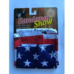 Bandana Show Bandeira EUA - 4273 - PEDAL PRÓ Bike Shop
