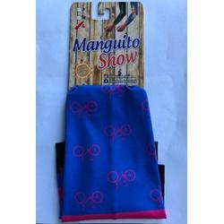 Manguito Show Azul e Rosa Bike - 4262 - PEDAL PRÓ Bike Shop